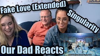 "Our Dad Reacts to ""Singularity"" and ""Fake Love Extended Version"""