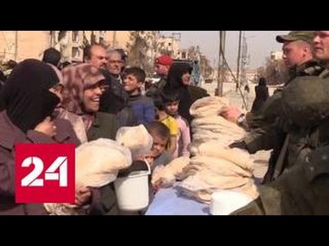 В Алеппо население возвращается к мирной жизни