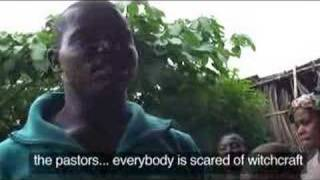 Child witch victims of  Nigeria Africa