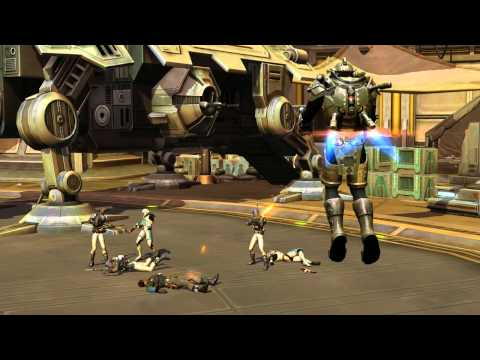 Star Wars: The Old Republic - Bounty Hunter Character Progression trailer