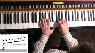 Jazz Piano College 303 Blue Bossa - advanced improv