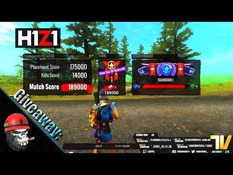 H1Z1 14 Kill Win! (Asia!)