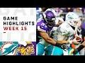 Dolphins Vs Vikings Week 15 Highlights NFL 2018 mp3