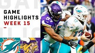 Dolphins vs. Vikings Week 15 Highlights   NFL 2018