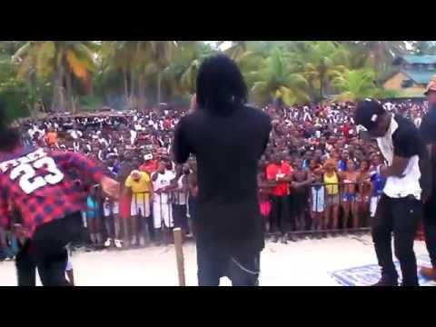 Kiff No Beat Performance Climbié Beach Assinie video