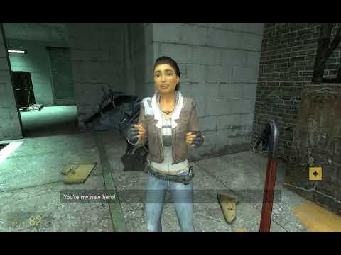 Half Life 2: Episode 1 ending/Alyx Gordon relationship