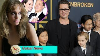Brad Pitt steals children by helicopter ,while Angelina Jolie very angry?