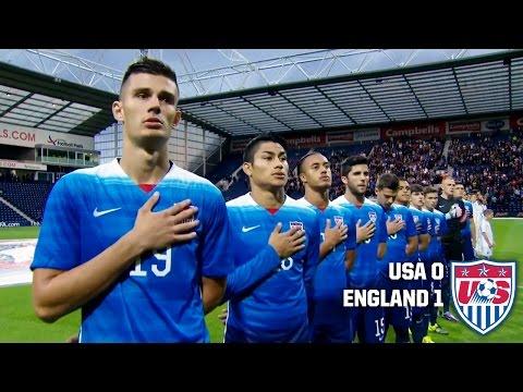 U-23 MNT vs. England: Highlights - Sept. 3, 2015