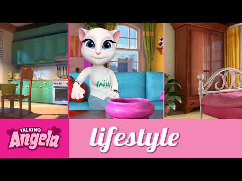 Talking Angela - My Apartment Tour