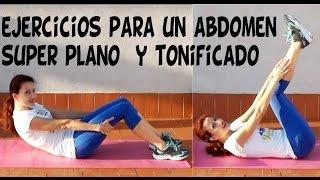ABDOMEN SUPER PLANO Y TONIFICADO-Rutina de ejercicios abdominales e isométricos