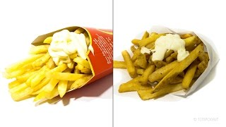 French Fries Timelapse Battle