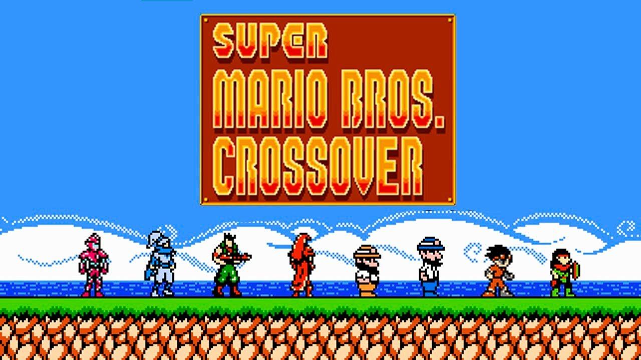 super mario crossover