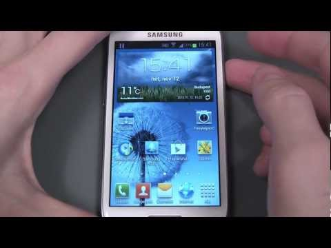 Samsung Galaxy S III mini (i8190) unboxing and hands-on