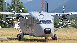 Short SC-7 Skyvan Engine Start-Up and Takeoff