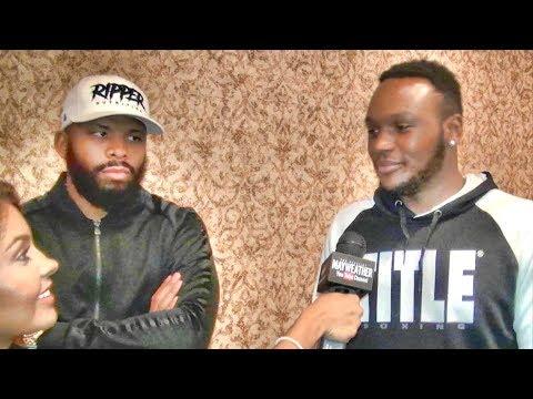 Badou Jack & Viddal Riley on Anthony Josua beating Povetkin, potential Wilder or Fury fight