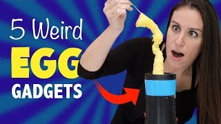 5 WEIRD EGG 🍳 GADGETS - TEST KITCHEN
