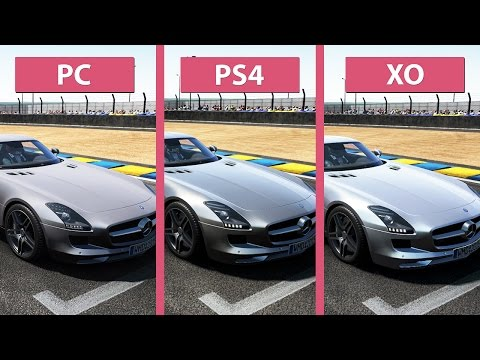 Project CARS – PC vs. PS4 vs. Xbox One Graphics Comparison [60fps][FullHD 1080p]