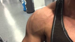 Part of my Chest press workout