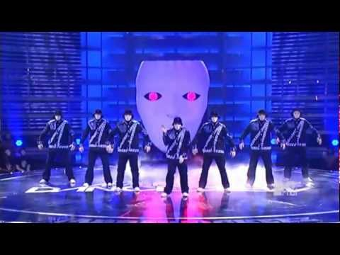 Jabbawockeez-robot Remains video