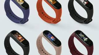 Mi 4 band # fitness tracker with colour display # 2019 series