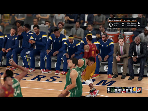 NBA2K16 Bucks vs Pacers 11.21.15 Full Game PS4