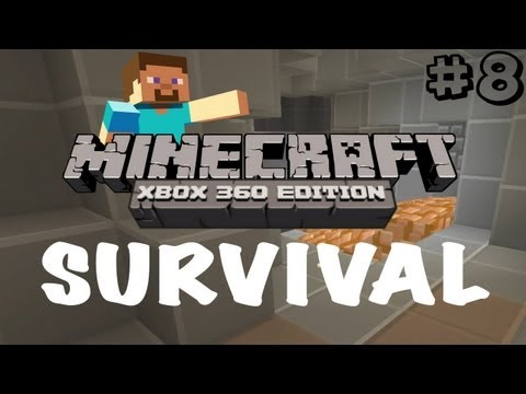 Minecraft Xbox 360: Survival Let's Play - Part 8 - Plastic Texture Pack