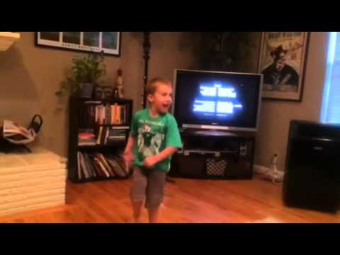 TMNT credits dance off