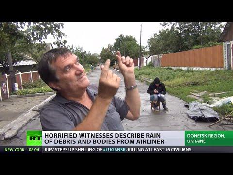 Investigators arrive in Ukraine, locals horrified by MH17 bodies  at their doorstep