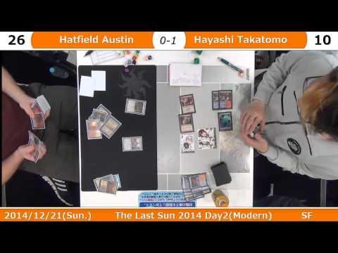 The Last Sun 2014 SF G2 Austin Hatfield(Norin Sisters) vs. Hayashi Takatomo(UR Delver)