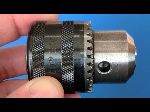Drill chuck disassembly