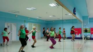 ZUMBA Fitness! New dance choreography! Кавунна Вечірка в Fit Time