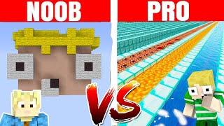 NOOB vs PRO :: SKY BASE!! - Dansk Minecraft