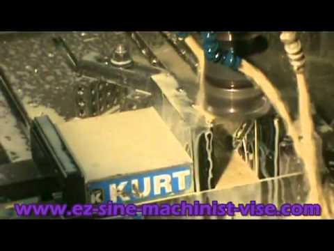 Mill an Angle-CNC or Bridgeport Milling Machine-EZ-Quick Set-Up-Video 2
