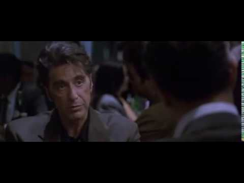 The Famous Restaurant Scene from Heat(1995)..Al Pacino vs Robert Deniro