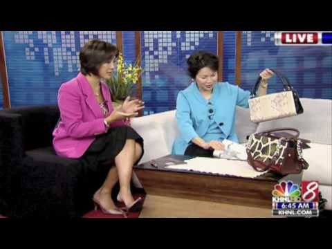 10/1/09 khnl_former first lady vicky cayetano on miche