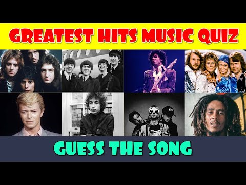 Greatest Hits Music Quiz  Guess the Song  Best Music Quiz  Name That Tune