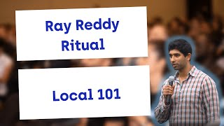 Ray Reddy of Ritual presents Local 101