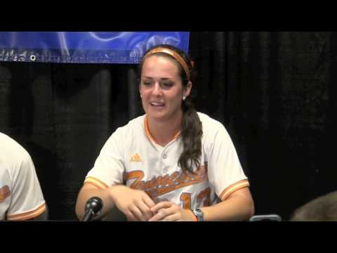 UT Softball Postgame Press Conference NCAA Game 3 (5/18/13)