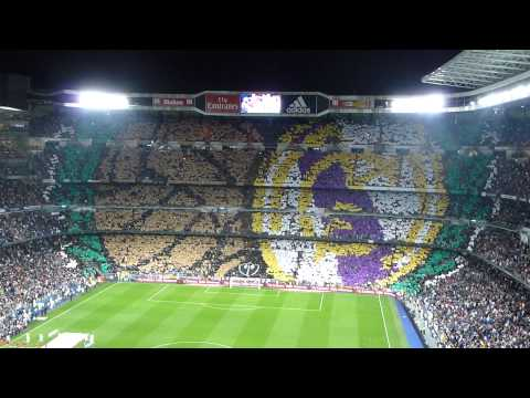 Mosaico Ultras Sur. Real Madrid - Atleti (13/14) HD