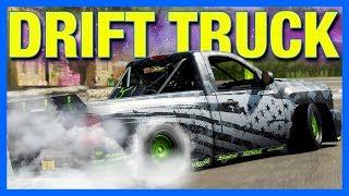 Forza Horizon 4 Customization : THE DRIFT TRUCK!! (FH4 Chevy Silverado)