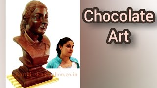 LIVE CHOCOLATE CARVING 4 - KARTIST