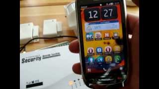 GSM ALARM SYSTEM  SC-101. Step 3. HOW TO SET UP MOBILE PHONE.