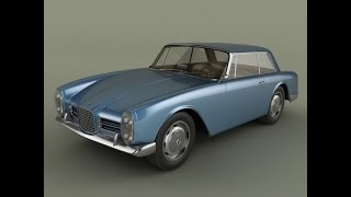 3D Model Facel Vega Facel III 3D Model at 3DExport.com