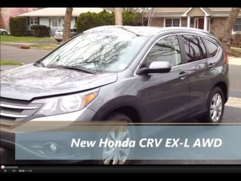 The New 2012 Honda CRV EX-L AWD First Look & Review