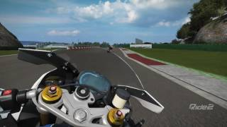 Ride2 BMW - HP4 - Vallelunga - Grand Prix Circuit [Chin view]