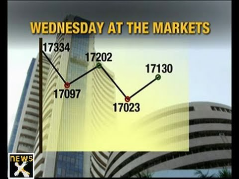 Sensex closes above 17,000 mark