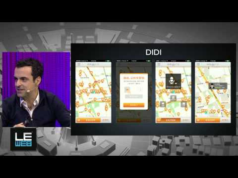 Hugo Barra, Vice President, Xiaomi Global & Loic Le Meur, LeWeb Founders- LeWeb'13 Paris -