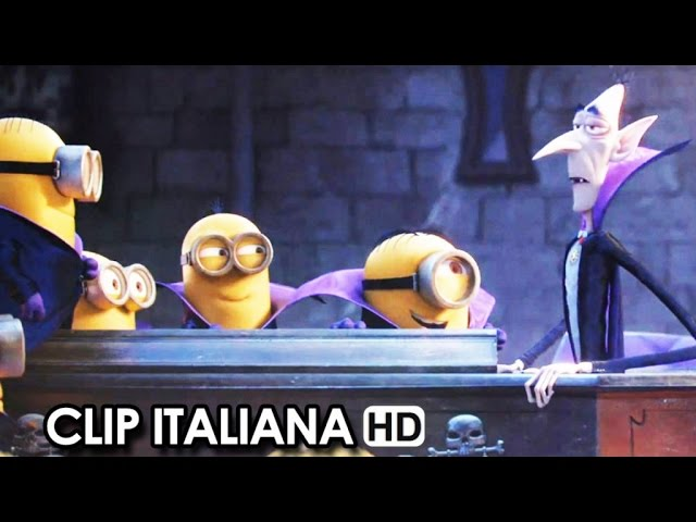 MINIONS Clip Ufficiale Italiana 'Dracula' (2015) - Steve Carell Movie HD