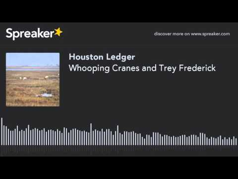 Whooping Cranes and Trey Frederick (made with Spreaker)