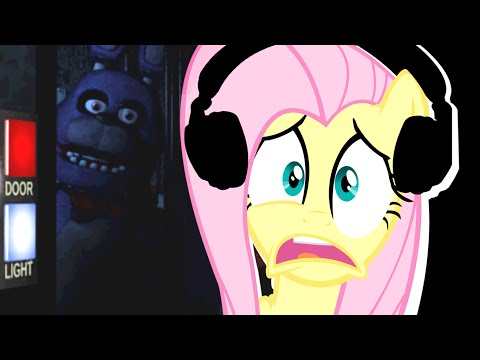 Fluttershy Plays Five Nights At Freddy's   Not Fair! video